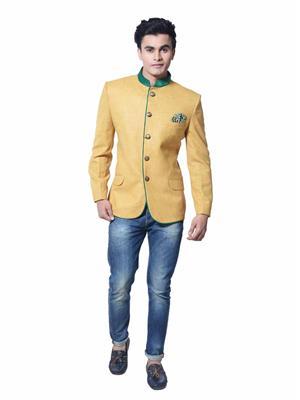 Nitara Life Style Dsc 0484 Yellow Men Coat