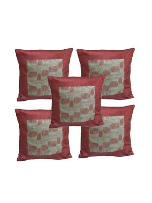 Diti Impex DT-CC3 Multicolored Cushion Cover Set of 5