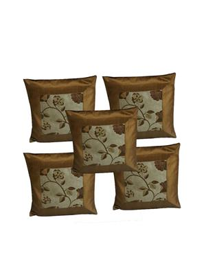 Diti Impex DT-CC5 Multicolored Cushion Cover Set of 5
