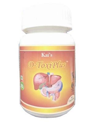 Hawaiian-Herbal Dtfac72 D-Toxiplus From Afi Capsule Ayurvedic & Organic