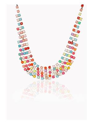 DressVilla DV-N-192 Multicolored Women Necklace