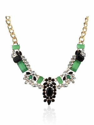 DressVilla DV-N101 Green Women Necklace