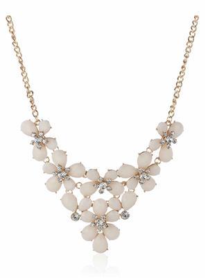 DressVilla DV-N108 White Women Necklace