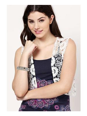 Dressvilla 157 Silver Women Bracelet