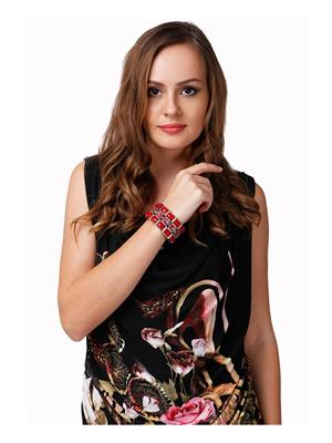 Dressvilla 196 Red Women Bracelet