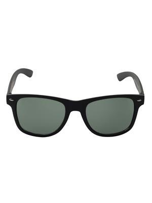 Allen Cate Dark Black Wayfarer Sunglasses