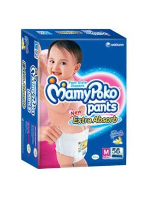 Mamy Poko White Pants Diapers Pack Of 56