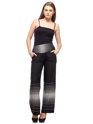 Diva_DV10 Black Women Plazzo Pants