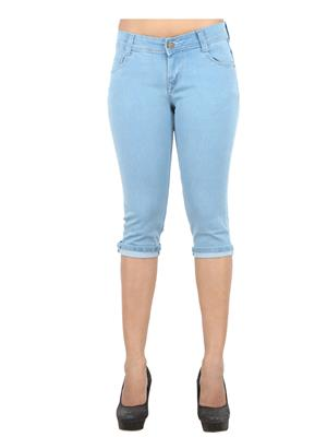 EBONY- nx Dno5555_L Grey Women Capri