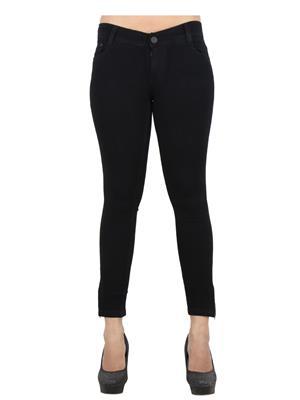 EBONY-nx Dno96 Black Women Jeans