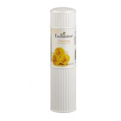 Enchanteur Enticing Perfumed Talc (Made In Malaysia) - Yellow Rose (250 g)