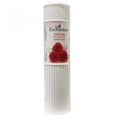 Enchanteur Enticing Perfumed Talc (Made In Malaysia) - Red Rose (250 g)
