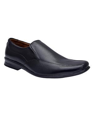 Enzo Cardini Ec305Blk Black Men Formal Shoes