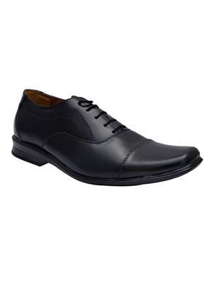 Enzo Cardini Ec310Blk Black Men Formal Shoes