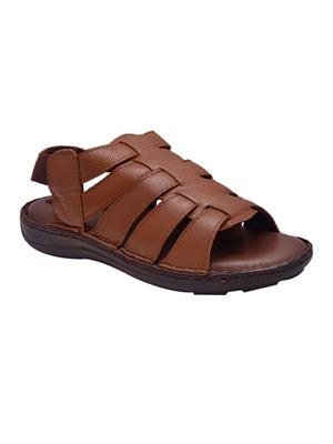 Enzo Cardini Ec786Brw Brown Men Sandals