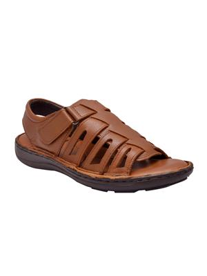 Enzo Cardini Ec788Brw Brown Men Sandals
