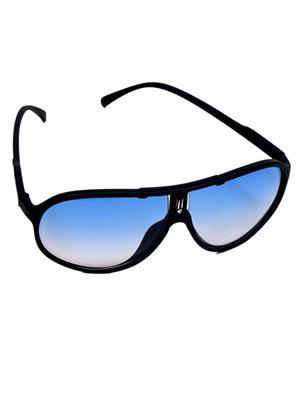 Eddys ED-OVAL-PLAS-BLU-WAY-221 Blue Unixex Aviator Sunglass