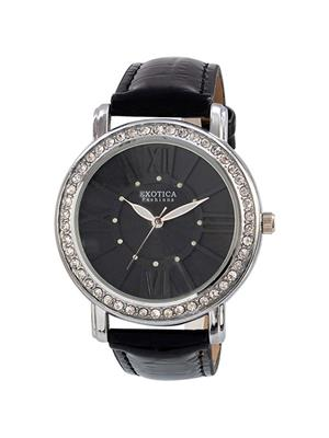 Exotica Fashions  EF-70-Black Women Wrist Watch