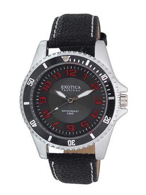 Exotica Fashions  EFG-70-LS-Black Men Wrist Watch