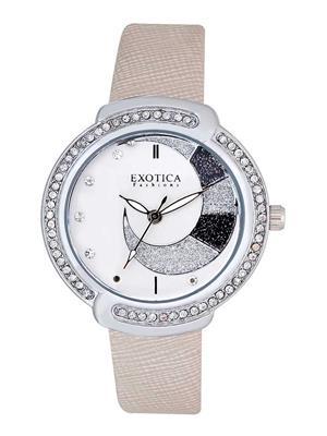 Exotica Fashions  EFL-27-White Women Wrist Watch