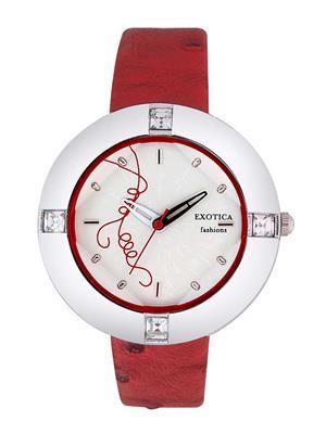 Exotica Fashions  EFL-29-White Women Wrist Watch