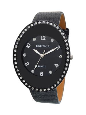 Exotica Fashions  EFL-60-Black Women Wrist Watch