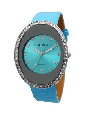 Exotica Fashions  EFL-60-L-Blue Women Wrist Watch
