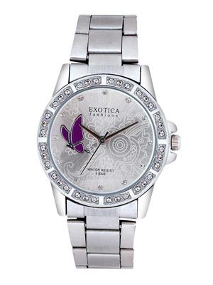 Exotica Fashions  EFL-95-ST-Purple Women Wrist Watch