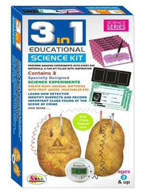 Ekta 0001 3 In 1 Educational Science Kit