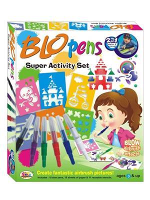 Ekta 0006 Blow Pens Super Activity Set