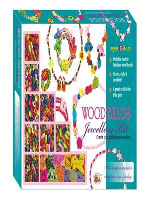 Ekta 0113 Wood Beads Jewellery Kit (Sr.)