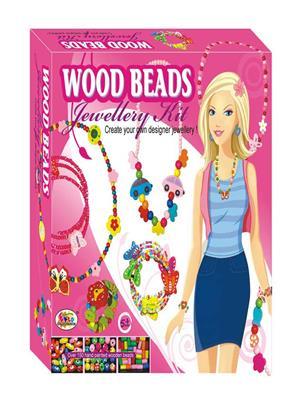 Ekta 0114 Wood Beads Jewellery Kit (Jr.)