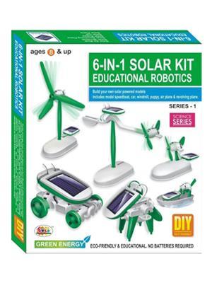Ekta 0122 6 In 1 Solar Kit Robotics Series-1