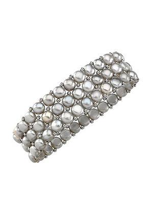 Love Bright Jewelry EL207BR20007850GSG6  Grey Women Bracelets