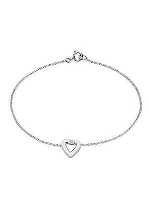 Love Bright Jewelry EL207BR20016377AGCZ  White Women Bracelets