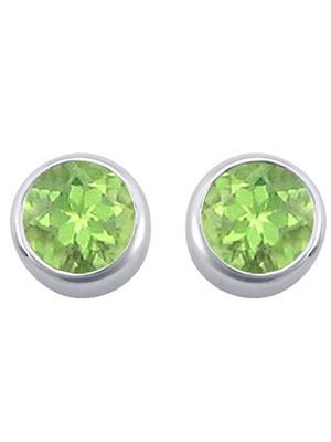 Love Bright Jewelry EL207ER20006699R110  Green Women Earrings