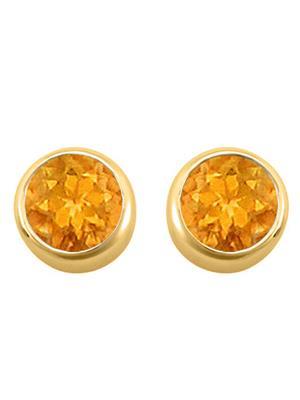 Love Bright Jewelry EL207ER2002409800CT  Yellow Women Earrings