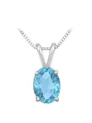 Love Bright Jewelry EL207PD20008997BTAG  Blue Women Pendants