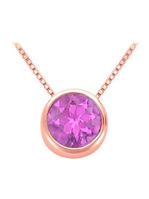 Love Bright Jewelry EL207PD200241490RAM  Purple Women Pendants