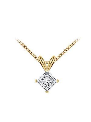 Love Bright Jewelry EL207PD2003410000CZ  White Women Pendants