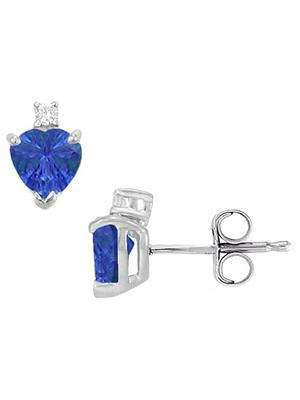 Love Bright Jewelry EL207UE200370660SAG  Blue Women Earrings