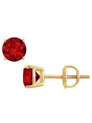 Love Bright Jewelry EL207UE20037658GVYR  Red Women Earrings