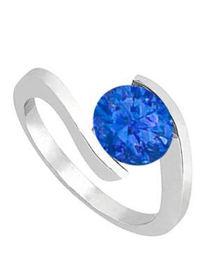 Love Bright Jewelry EL207UJ200371776AGSRS Blue Women Rings
