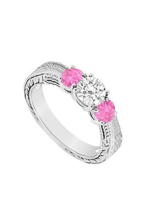 Love Bright Jewelry EL207UJ20037182CZPSRS Pink Women Rings