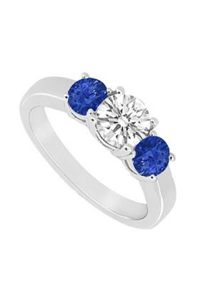 Love Bright Jewelry EL207UJ20037205GCZSRS Blue Women Rings