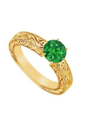Love Bright Jewelry EL207UJ20037343GVYERS Green Women Rings