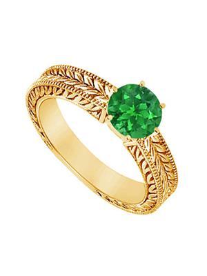 Love Bright Jewelry EL207UJ20037349GVYERS Green Women Rings