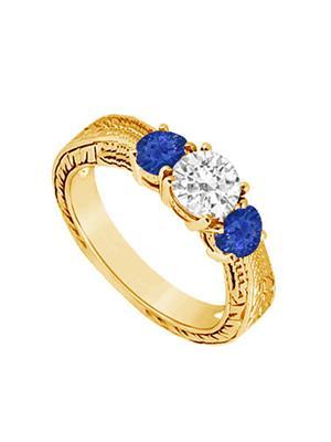 Love Bright Jewelry EL207UJ20037358YCZSRS Blue Women Rings