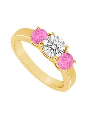 Love Bright Jewelry EL207UJ20037383CZPSRS Pink Women Rings