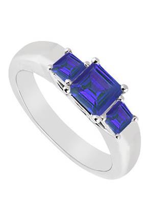 Love Bright Jewelry EL207UJ200374826AGSRS Blue Women Rings
